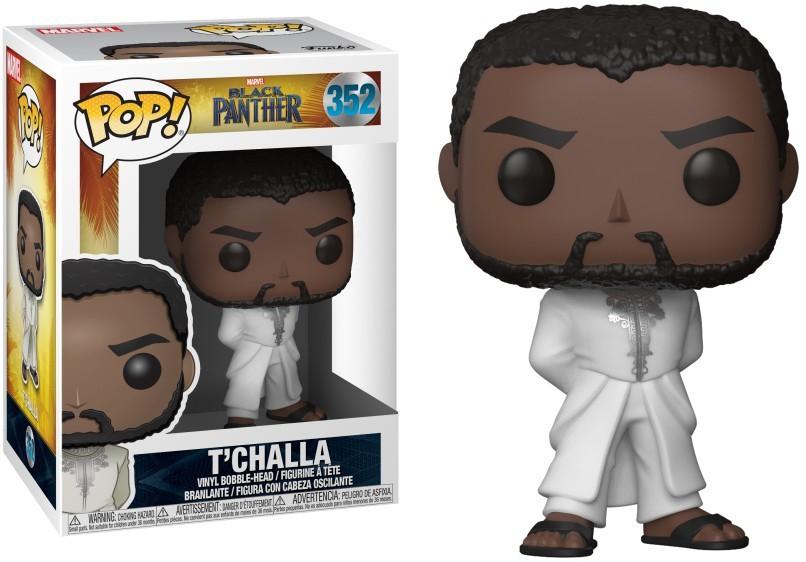 POP! Bobble Marvel: Black Panther: T'Challa Robe (White)
