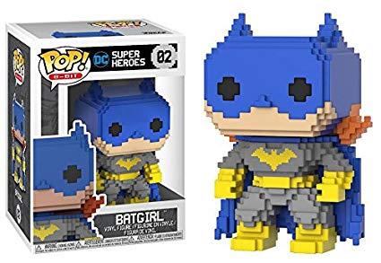 POP! Vinyl DC: 8-Bit Classic Batgirl Blue