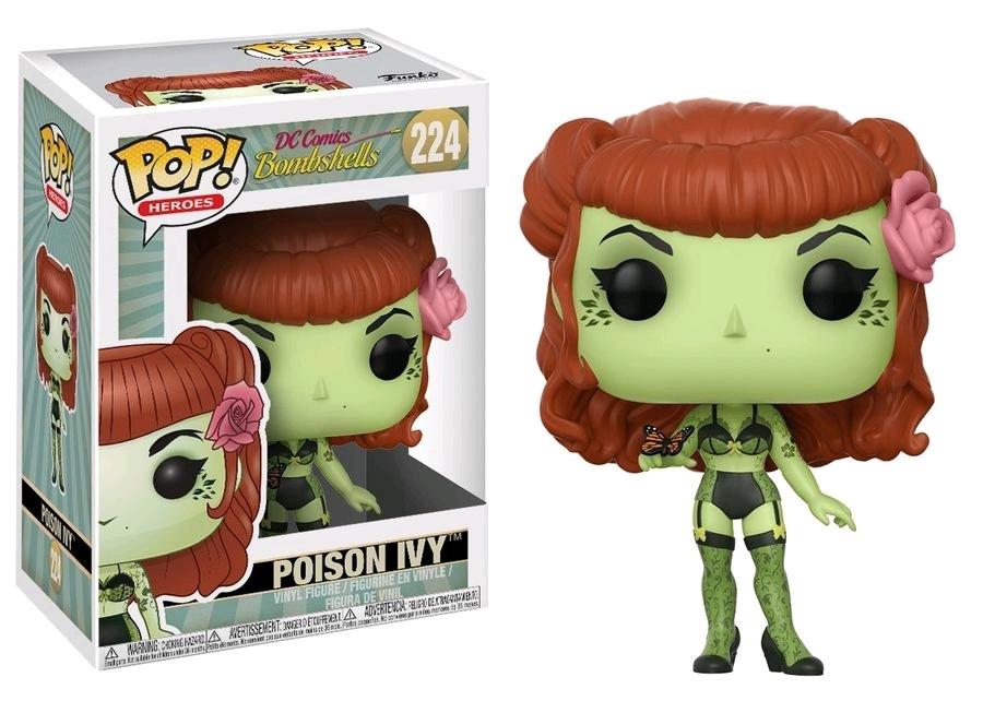 Hračky - POP! Vinyl DC: Bombshells Poison Ivy