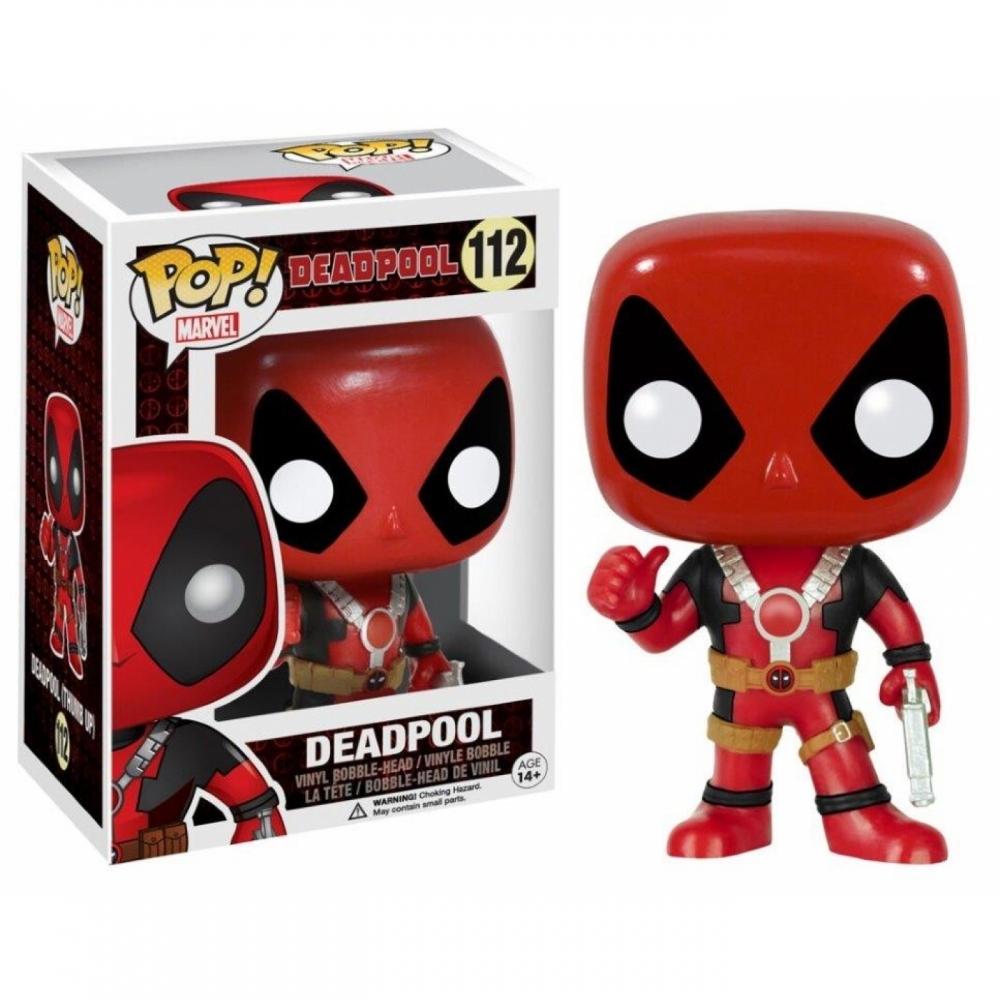 POP! Bobble Marvel: Deadpool Thumb Up