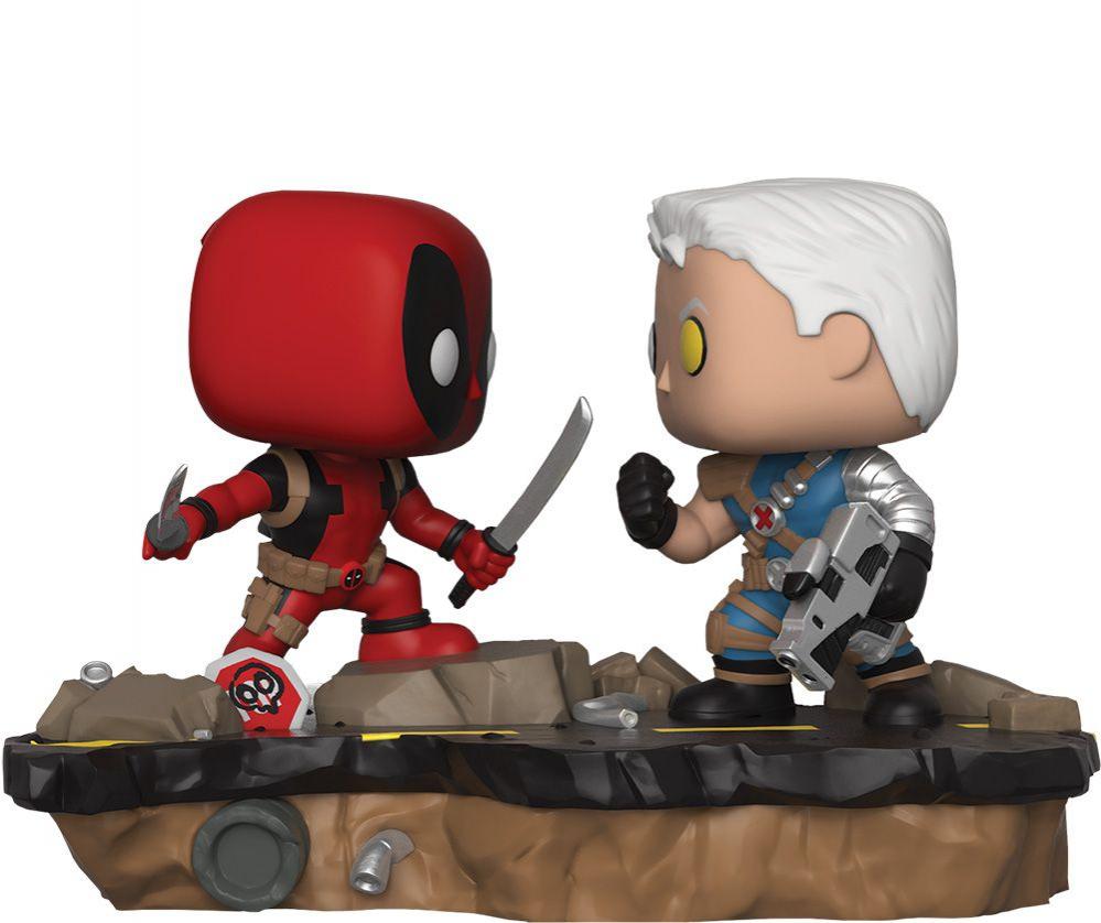 POP! Bobble 2-Pack: Marvel: Movie Moments: Deadpool vs Cable