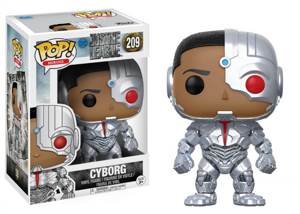 POP! Vinyl DC: Justice League: Cyborg