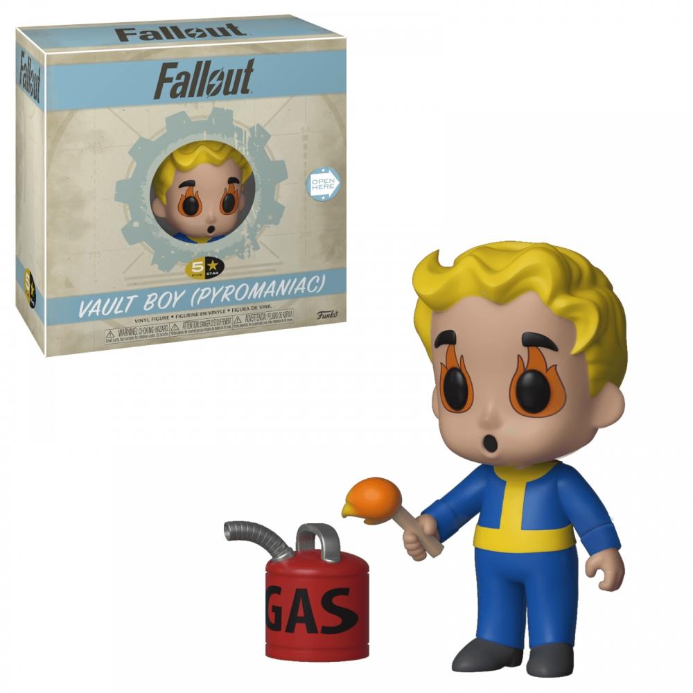 5 Star: Fallout S2 - Vault Boy (Pyromaniac)