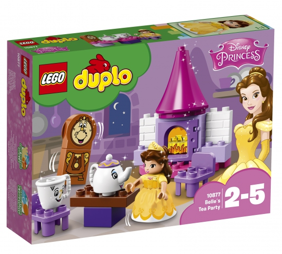 Hračky - LEGO DUPLO Bella a čajový dýchánek 10877