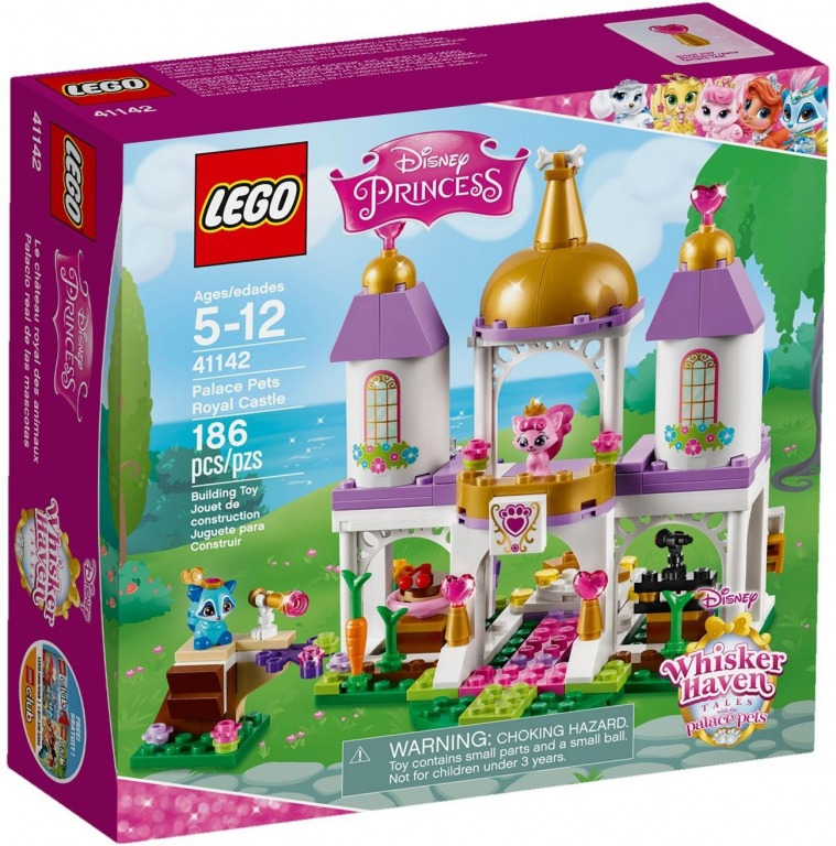Hračky - LEGO PRINCESS Mazlíčci z paláce - královský hrad 41142