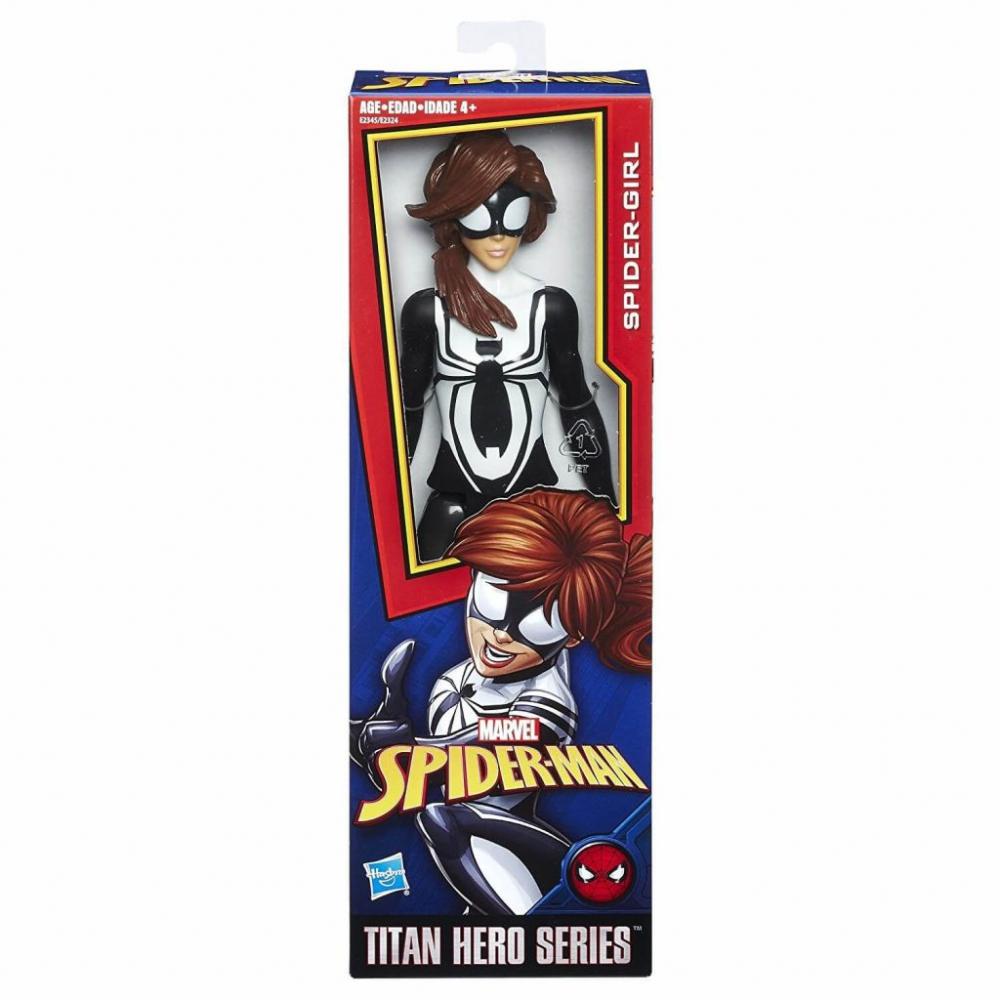 Hračky - Akční figurka Spiderman Titan - Spider girl - 30 cm