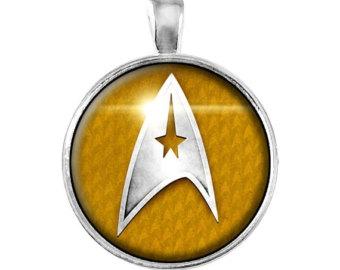 Šperky - Náhrdelník Star Trek - Velitelská divize