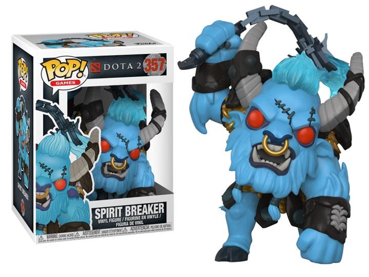 Hračky - POP! Vinyl Games: Dota 2: Spirit Breaker