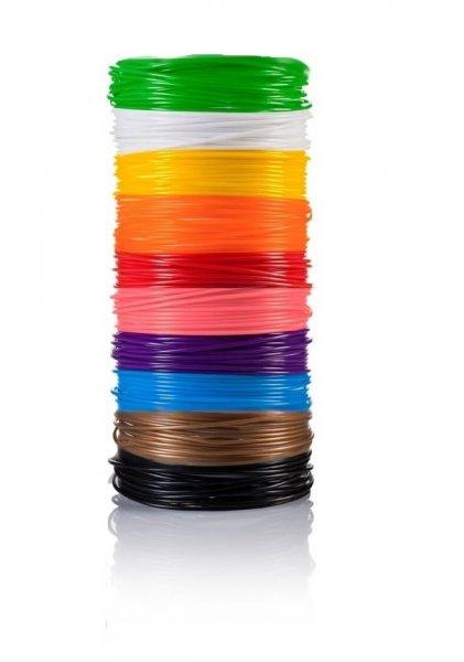 Bydlení a domácnost - Náplně do 3D pera - mix 10 barev