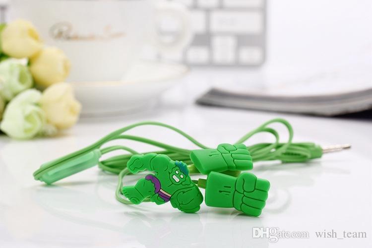 Sluchátka do uší - Avengers Hulk