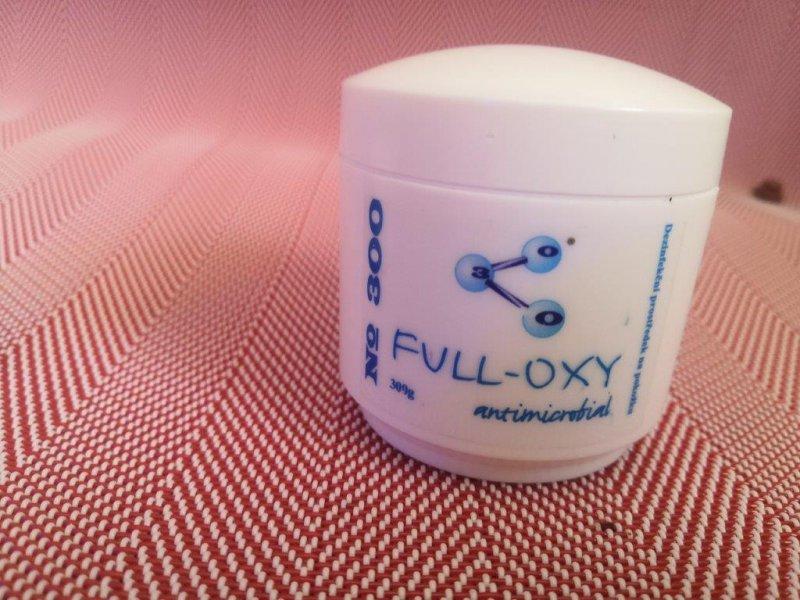 Dezinfekční krém Full OXY na bázi ozonu 100 ml