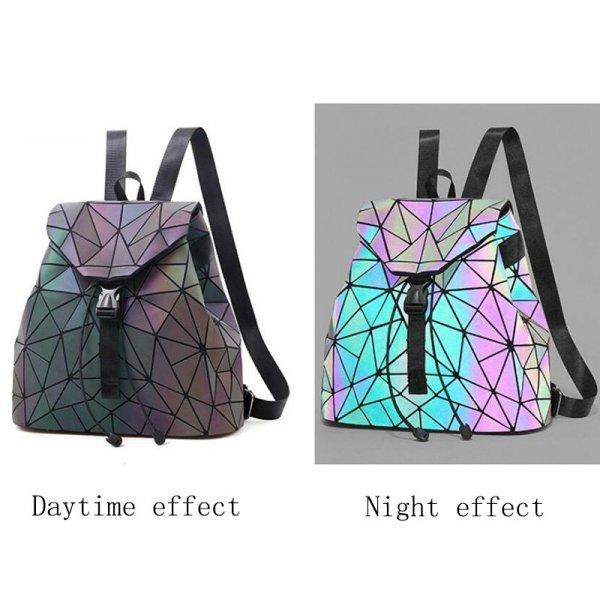 Oblečení a móda - Geometrický světelný batoh