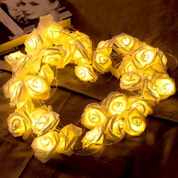 Bydlení a domácnost - Svítící růže
