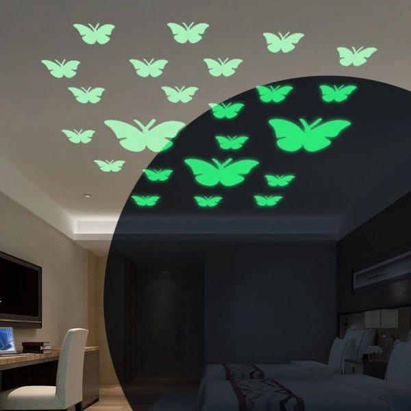 Bydlení a domácnost - Svítící motýlci