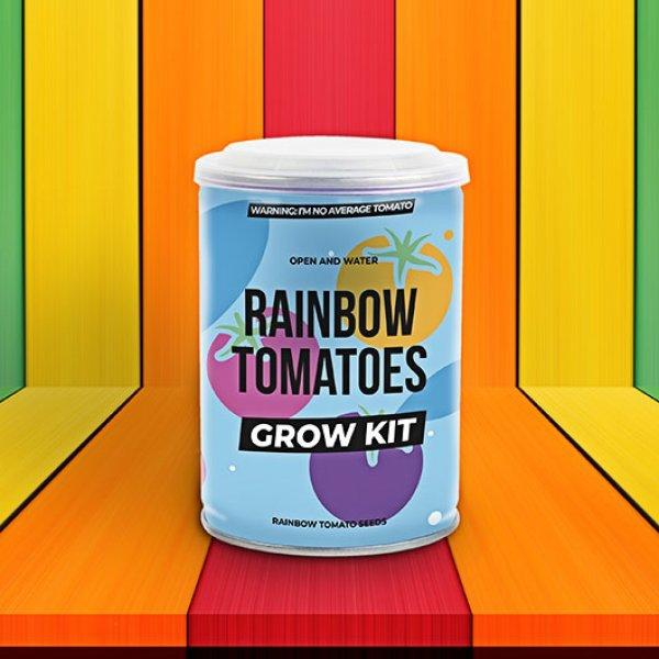 Bydlení a domácnost - Grow Tin - plechovka barevných rajčat
