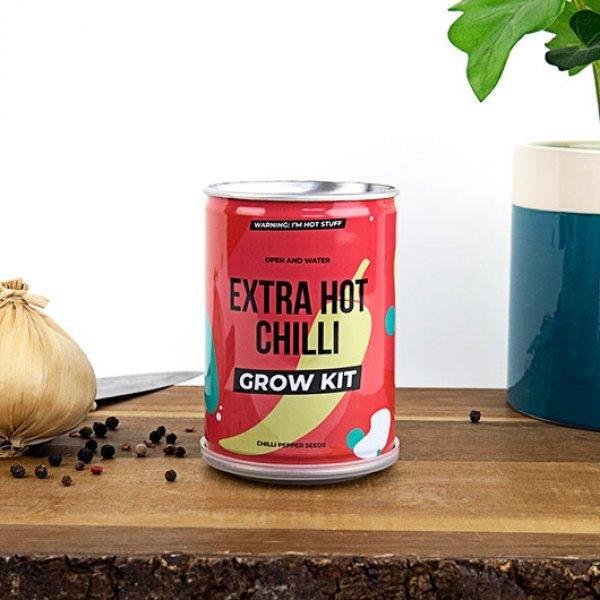 Bydlení a domácnost - Grow Tin - plechovka pekelného chilli