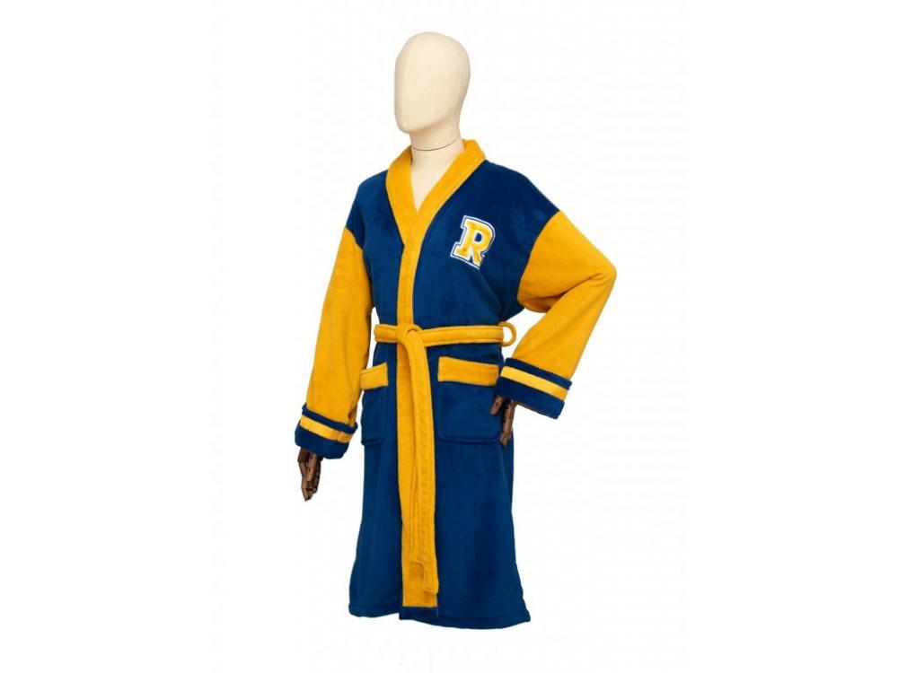 Dámský župan - Archie Bomber Blue and Yellow Riverdale