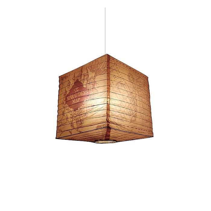 Stínidlo na lampu - Harry Potter Marauders Map