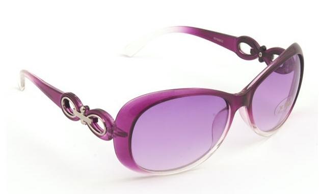 Luxusní dámské sluneční brýle - Červené