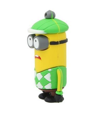 USB flask disk 4 GB - zelený panáček
