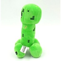 Plyšák Minecraft Creeper zelený - 18 cm