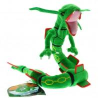 Plyšák Pokemon zelený drak Rayquaza - 83 cm