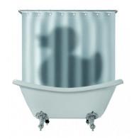 Závěs do koupelny - stín kachny