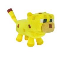Plyšák Minecraft kočka žlutá - 24 cm
