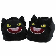 Papuče Bezzubka - černé