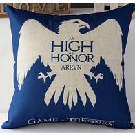Povlak na polštář Game of Thrones modrý