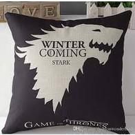 Povlak na polštář - Game of Thrones - černý