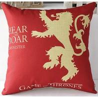 Povlak na polštář - Game of Thrones - červený