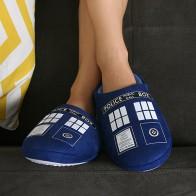 Bačkory Dr. Who - Tardis