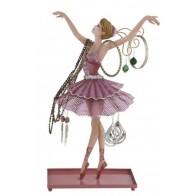 Vešáček na šperky balerína