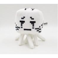 Plyšák Minecraft Ghast - bílé oči - 16 cm