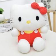Plyšák Hello Kitty - 25 cm - Červená