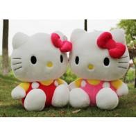 Plyšák Hello Kitty - 35 cm - Červená