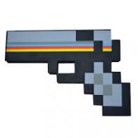 Minecraft pistole - černá