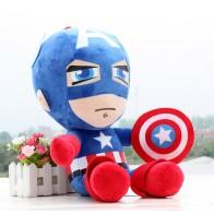 Plyšák Kapitán Amerika - 25 cm