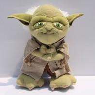 Plyšák Yoda - 22 cm - světle zelený