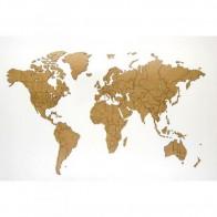 Puzzle mapa světa - přírodní