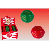 Hrací kostka Vánoční dilema