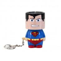 Přívěšek na klíče s LED svítilnou - Superman