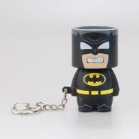 Přívěšek na klíče s LED svítilnou - Batman
