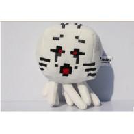 Plyšák Minecraft Ghast - červené oči - 18 cm