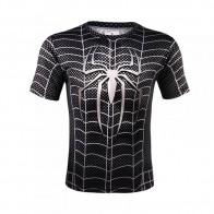 Sportovní tričko - Spiderman SYMBIOTE - černá