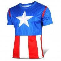Sportovní tričko - Captain America