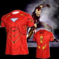 Sportovní tričko - Iron Man
