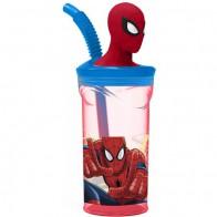 Sportovní láhev s 3D hlavou Spidermana