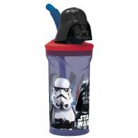 Sportovní láhev Star Wars s 3D hlavou Darth Vadera